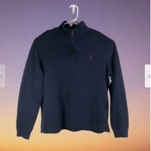Polo Ralph Lauren Mens Blue Pullover Size Large